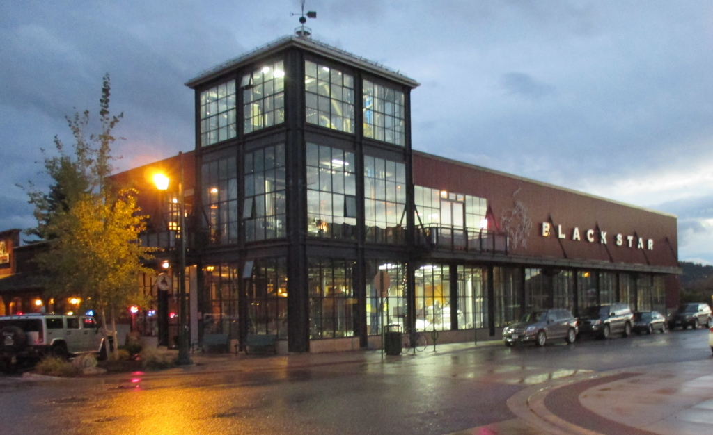 The Great Northern Brewery in Whitefish, Montana