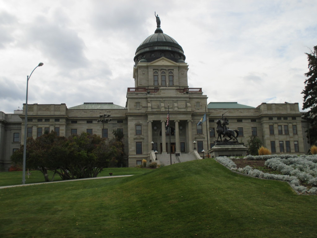 Montana capitol bldg