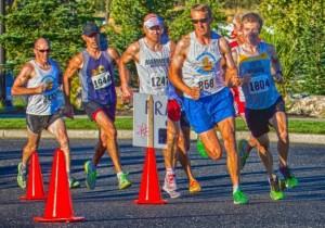 Evan in race