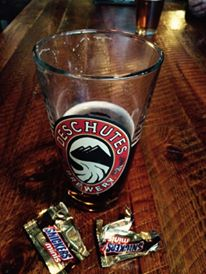 Beer and  Snickers